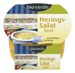 Hering-Salat in Senfmarinade