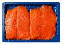 500g Geräucherter Lachs