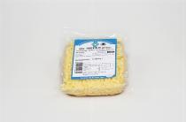 Stück-Käse gerieben