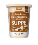 Kichererbsen-Kokos Suppe