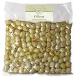 Grüne Oliven Paprika mariniert