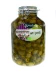Grüne Oliven Knoblauchfüllung