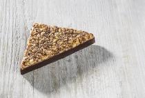 Nussecke mit ZB-Schokolade