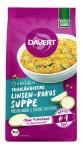 Thailändische Linsen-Kokos-Sup