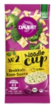 Noodle-Cup Brokkoli-Käse-Sauce