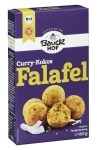 Falafel, Curry-Kokos