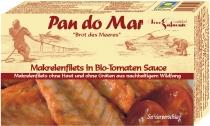Makrelenfilets in Tomatensoße