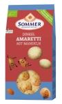 Dinkel-Amaretti mit Mandeln