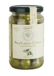Grüne Amphiassa-Oliven Kräuter