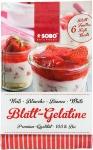 Bio Blatt-Gelatine, weiß