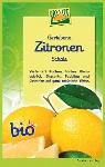 Geriebene Zitronenschale