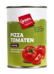 Pizza Tomaten gewürfelt