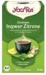 Yogi-Grüntee Ingwer Zitrone