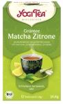 Yogi-Grüntee Matcha Zitrone
