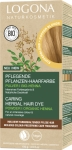 Pflegende Pflanzen-Haarfarbe