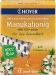 Manukahonig Liquid Sticks MGO