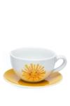 Porzellan-Teetasse-Sonne