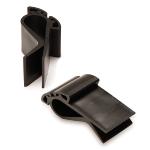 ECHT BIO Kistenklemmen schwarz